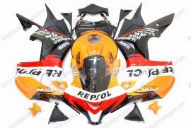 F5 2007-2008 Injection ABS Fairing For Honda CBR 600RR - Repsol  - Orange/Black