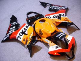 F5 2007-2008 Injection ABS Fairing For Honda CBR 600RR - Repsol - Color