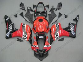 F5 2007-2008 Injection ABS Fairing For Honda CBR 600RR - Repsol  - Red/Black