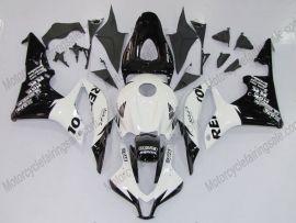 F5 2007-2008 Injection ABS Fairing For Honda CBR 600RR - Repsol - Black/White
