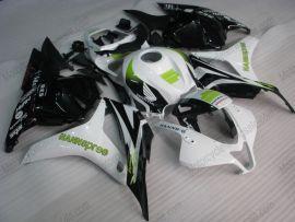 F5 2009-2012 Injection ABS Fairing For Honda CBR 600RR - HANN spree - White/Black