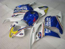 F5 2009-2012 Injection ABS Fairing For Honda CBR 600RR - Rothmans - Blue/White