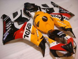 CBR1000RR 2006-2007 Injection ABS Fairing For Honda - Repsol - Orange/Black