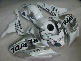 CBR1000RR 2006-2007 Injection ABS Fairing For Honda - Repsol - Silver/White