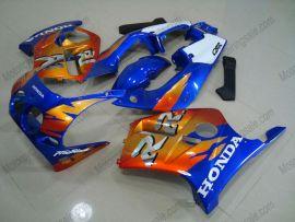 MC19 1988-1989 Injection ABS Fairing For Honda CBR250RR  - Fireblade - Blue/Orange