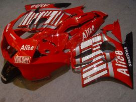 F3 1995-1996 Injection ABS Fairing For Honda CBR600 - Alice - Red/White