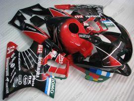 F3 1995-1996 Injection ABS Fairing For Honda CBR600 - JOMO - Black/Red