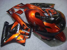 F3 1995-1996 Injection ABS Fairing For Honda CBR600 - Others - Black/Orange
