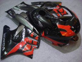 F3 1995-1996 Injection ABS Fairing For Honda CBR600 - Others - Black/Red