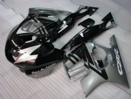 F3 1995-1996 Injection ABS Fairing For Honda CBR600 - Others - Black/Silver