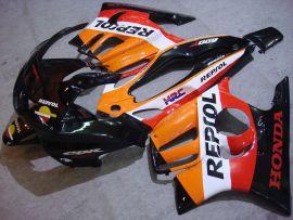 F3 1995-1996 Injection ABS Fairing For Honda CBR600 - Repsol - Orange/Black/Red