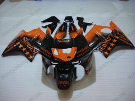 F3 1995-1996 Injection ABS Fairing For Honda CBR600 - SevenStars - Orange/Black