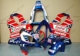 F4i 2001-2003 Injection ABS Fairing For Honda CBR600 - Castrol - Blue/Red/White