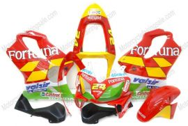 F4i 2001-2003 Injection ABS Fairing For Honda CBR600 - Fortuna - Red/Yellow/Green