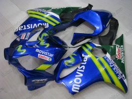 F4i 2001-2003 Injection ABS Fairing For Honda CBR600 - Movistar - Blue