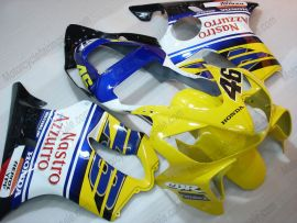 F4i 2001-2003 Injection ABS Fairing For Honda CBR600 - Nastro Azzurro - Yellow/Blue/White