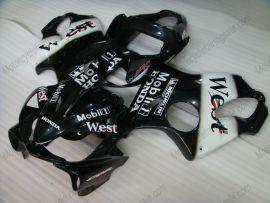 F4i 2001-2003 Injection ABS Fairing For Honda CBR600 - West - Black/White