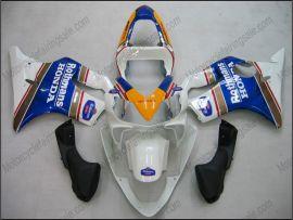 F4i 2001-2003 Injection ABS Fairing For Honda CBR600 - Rothmans - Blue/White