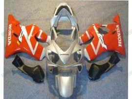 F4i 2001-2003 Injection ABS Fairing For Honda CBR600 - Others - Orange/Silver