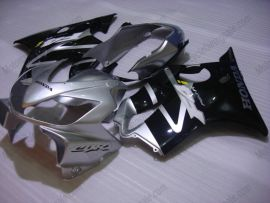 F4i 2004-2007 Injection ABS Fairing For Honda CBR600 - Others - Silver/Black