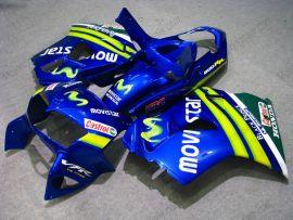VFR800 1998-2001 ABS Fairing For Honda - Movistar - Blue