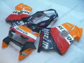 VFR800 1998-2001 ABS Fairing For Honda - Repsol - Orange/Black/Red