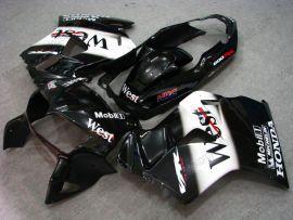 VFR800 1998-2001 ABS Fairing For Honda - West - Black/White
