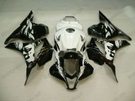 F5 2007-2008 Injection ABS Fairing For Honda CBR 600RR - Others  - Black/White