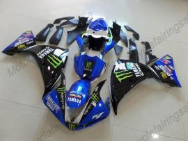 YZF-R1 2012-2014 Injection ABS Fairing For Yamaha - DUNLOP - Blue/Black