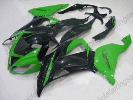 NINJA ZX6R 2013-2015 Injection ABS Fairing For Kawasaki - Factory Style - Green/Black
