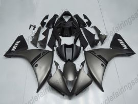 YZF-R1 2012-2014 Injection ABS Fairing For Yamaha - Factory Style - Gray