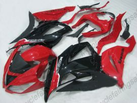 NINJA ZX6R 2013-2015 Injection ABS Fairing For Kawasaki - Factory Style - Red/Black
