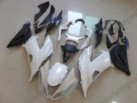 NINJA ZX6R 2013-2015 Injection ABS Fairing For Kawasaki - Factory Style - White/Black