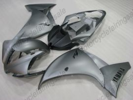 YZF-R1 2012-2014 Injection ABS Fairing For Yamaha - Factory Style - Gray/Black