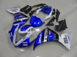 YZF-R1 2012-2014 Injection ABS Fairing For Yamaha - Factory Style - Blue/White/Black