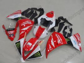 YZF-R1 2012-2014 Injection ABS Fairing For Yamaha - MAXXIS - Red/White/Black/Black