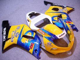 GSX-R 1000 2000-2002 K1 K2 Injection ABS Fairing For Suzuki - Corona - Yellow/Blue