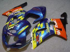 GSX-R 1000 2000-2002 K1 K2 Injection ABS Fairing For Suzuki - Movistar - Blue/Yellow/Orange