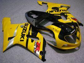 GSX-R 1000 2000-2002 K1 K2 Injection ABS Fairing For Suzuki - Others - Yellow/Black