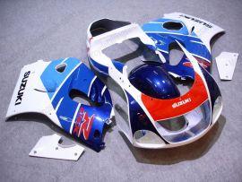GSX-R 600/750 1997-1999 ABS Fairing For Suzuki - Others - Blue/White/Red