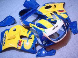 GSX-R 600/750 1997-1999 ABS Fairing For Suzuki - Others - Blue/Yellow