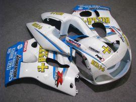 GSX-R 600/750 1997-1999 ABS Fairing For Suzuki - Rizla+ - White/Blue