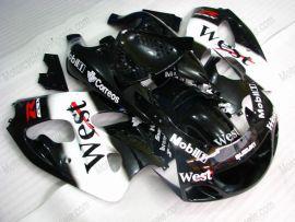 GSX-R 600/750 1997-1999 ABS Fairing For Suzuki - West - Black/White