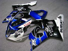 GSX-R 600/750 2004-2005 K4 Injection ABS Fairing For Suzuki - Corona - Black/Blue/White