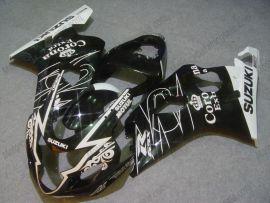 GSX-R 600/750 2004-2005 K4 Injection ABS Fairing For Suzuki - Corona - Black/White
