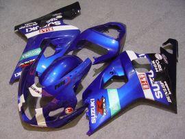 GSX-R 600/750 2004-2005 K4 Injection ABS Fairing For Suzuki - Dunlop - Blue/White/Black