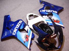 GSX-R 600/750 2004-2005 K4 Injection ABS Fairing For Suzuki - Others - Blue/White