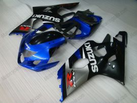 GSX-R 600/750 2004-2005 K4 Injection ABS Fairing For Suzuki - Others - gray/black body with blue headlight