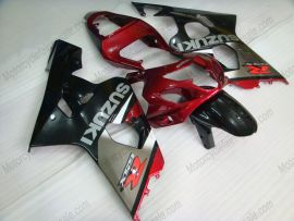 GSX-R 600/750 2004-2005 K4 Injection ABS Fairing For Suzuki - Others - gray/black body with red headlight