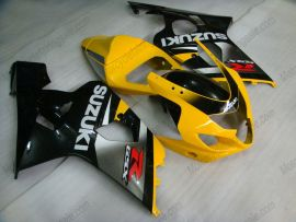 GSX-R 600/750 2004-2005 K4 Injection ABS Fairing For Suzuki - Others - gray/black body with Yellow headlight